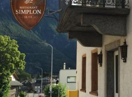 Hotel Simplon va hie, Brig