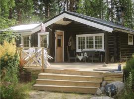 Holiday home Runnsjön Östmark, Mårbacken