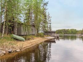 Three-Bedroom Holiday Home in Savonlinna, 萨翁林纳