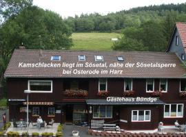 Gästehaus Bündge, Kamschlacken