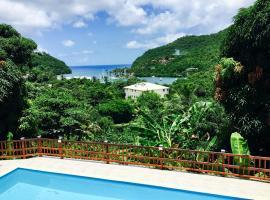 Treetops Villa, Marigot Bay