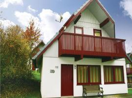 Three-Bedroom Holiday home Kirchheim with a Fireplace 04, Kemmerode