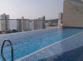 Apartamento 2 alcobas piscina velas 7 caballero, Santa Marta