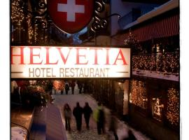 Hotel Helvetia, Zermatt