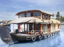 1-BR houseboat in Alappuzha, by GuestHouser 24866, Alleppey