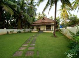 Villa with garden in Morjim, Goa, by GuestHouser 52691, Morjim