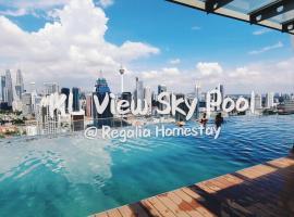 Regalia Fluffy Sky Pool @ KL, Kuala Lumpur