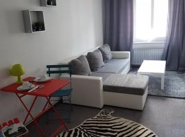 Apartment im lebhaften Stadtteil