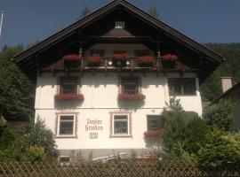 Tiroler Frieden, Sankt Anton am Arlberg