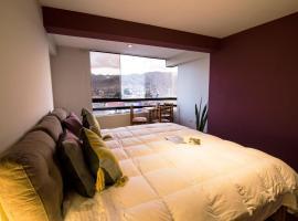Mountain view luxury apartment, Cuzco