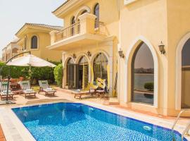 Ahlan Holiday Homes - Garden Home Beach Villa, Dubaj