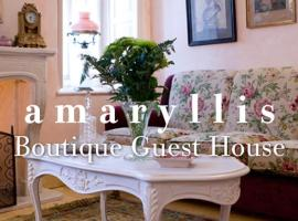 Amaryllis Boutique Guest House, Áno Pediná