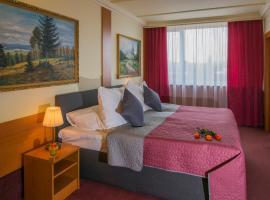 TOP HOTEL Praha, Praag