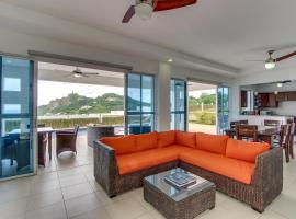 Vista de la Estatua + Vista de la Bahía, San Juan del Sur