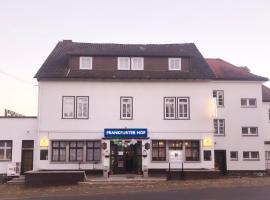 Hotel Pension Frankfurter Hof