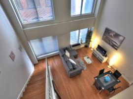 1-Bedroom Loft with Mezzanine Convention Center, Montréal
