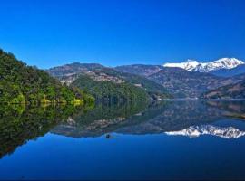 Sanu Lake on 'de Water, Pokhara