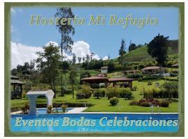 Hosteria Mi Refugio, Hacienda Irubí