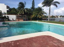 Depto Zona Hotelera Cancun, Cancún