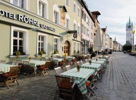 Hotel & Gasthaus DAS RÖHRL Straubing