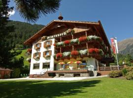 Pension Almrausch, Neustift im Stubaital