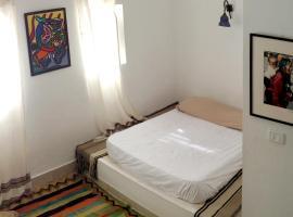 Sadika Studio: Apartamento Artístico y Luminoso, Gamarth