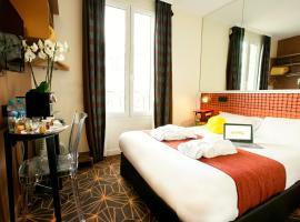 Hotel Olympic by Patrick Hayat, Булонь-Бийанкур