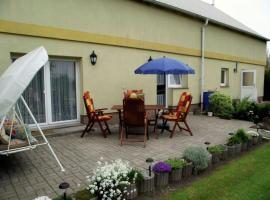 Sunlit Apartment with Fenced Garden in Eixen