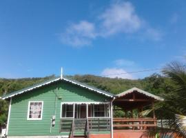 Seawind Cottage- Traditional St.Lucian Style, Gros Islet