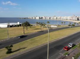 La vista de Montevideo, Montevideu