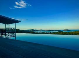 Amazing ocean view in a luxurious villa, Playa Flamingo