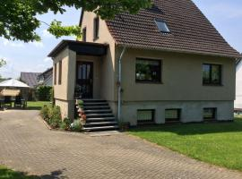 Cozy Apartment in Zierow with Beautiful Garden