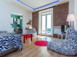 Two-bedroom apartment with Jacuzzi, Mińsk