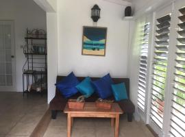smithy's eco-apartment, Morne Jaloux Ridge