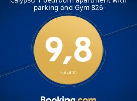 Calypso 1 bedroom apartment with parking and Gym 826,