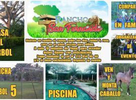 Rancho San Fernando, Yopal