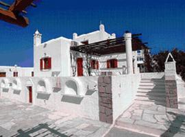 Villa Vasilis, Miasto Mykonos