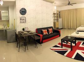 KL city Infinity pool studio 5min to KTM@ Regalia, Kuala Lumpur