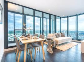 Exquisite Level 23 Apartment w Infinity pool, Брисбен
