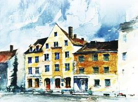 Hotel Augsburg Goldener Falke