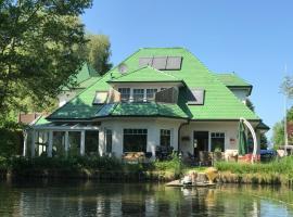 Moderne Maisonette-Wohnung am Karpfenteich; modern Apartment with view of the carp pond