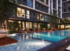Ideo Mobi Sukhumvit - 1 min from On-Nut BTS - Pool, WIFI, Cable, Бангкок