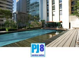 PJ8 Service Suite 2 Bedrooms Near Train Station, Petaling Jaya
