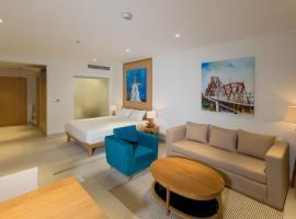 Perfect One Bedroom studio B605 Ocean Apartment, Danang