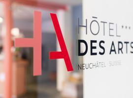 Hôtel Des Arts, Neuchâtel