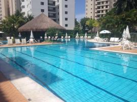 Praia Riviera de São Lourenço - Bertioga - apartamento completo, Bertioga