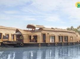 1-BR houseboat in Alappuzha, by GuestHouser 26024, Alleppey