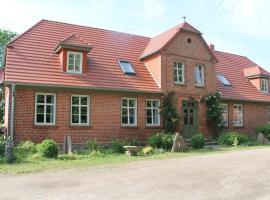 Vintage Mansion near Lake in Warnow