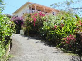 Piton Vista Villa Apartment, Soufrière