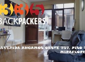 335 Backpackers, Lima